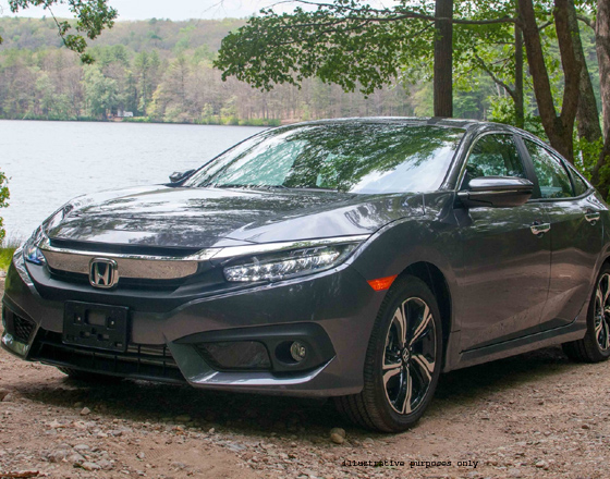 Honda Civic Car on Sale - 2016 Model