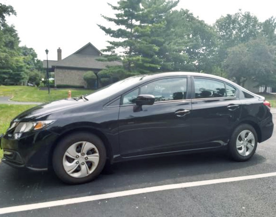 Honda Civic LX 2014 low miles
