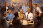 Trump Mocked Over White House Painting