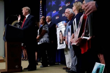 Trump Pledges to Secure Borders, Wants Meritorious People to Enter U.S