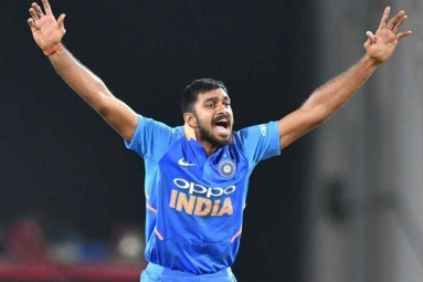 Vijay Shankar: Not Thinking About World Cup Selection