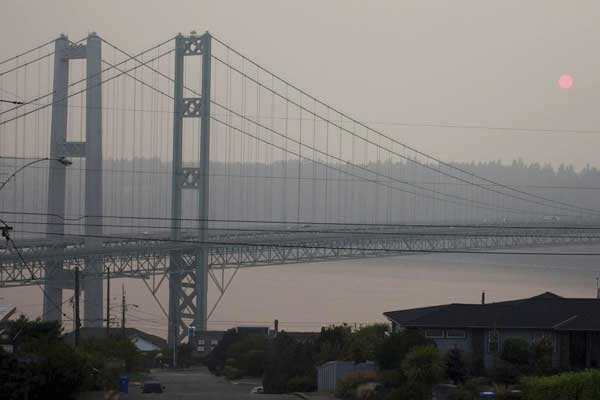 Hard to See, Hard to Breathe: U.S. West Struggles with Smoke